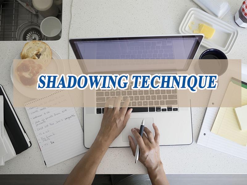 Học tiếng anh bằng kỹ thuật Shadowing