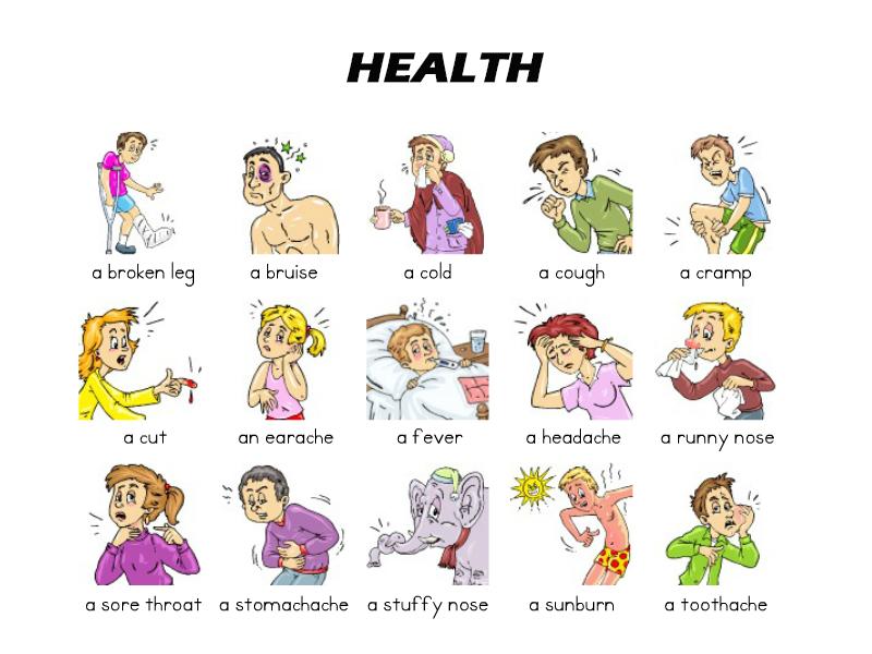 Học tiếng Anh theo chủ đề sức khỏe