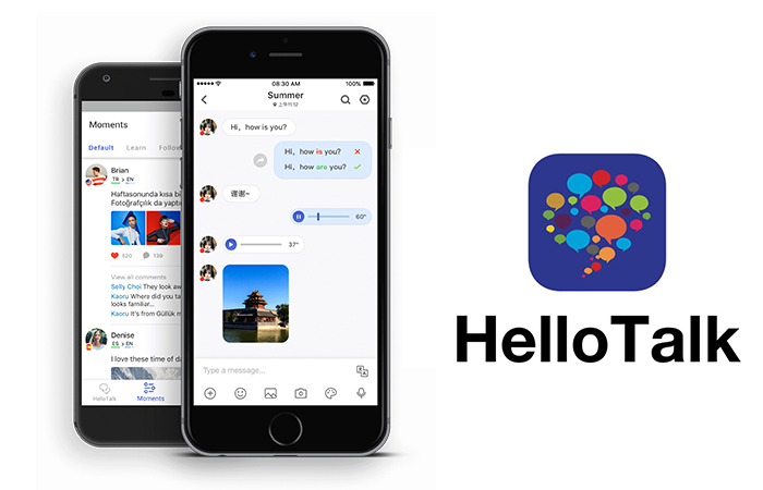 Phần mềm học tiếng anh - HelloTalk