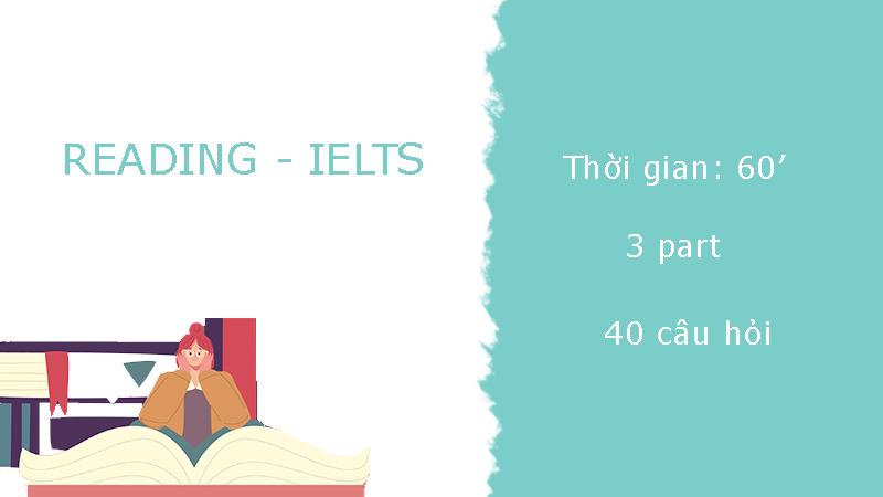 Cấu trúc đề thi Ielts - Reading