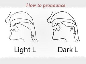 Cách phát âm light L và dark L