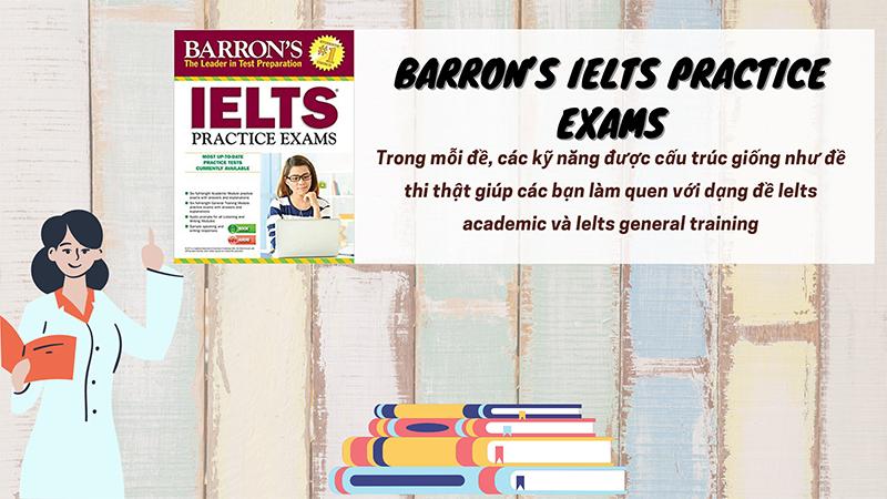 Sách luyện thi Ielts của Barron