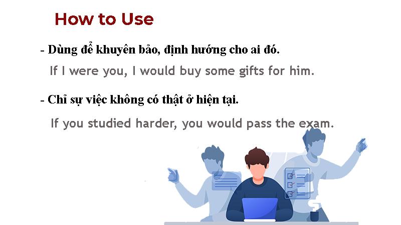 Cách dùng câu điều kiện loại 2