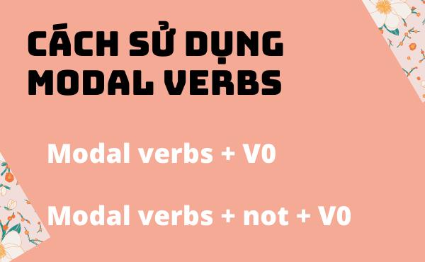 Cách dùng của các modal verbs