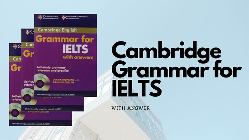 Sách tham khảo về ngữ pháp Ielts