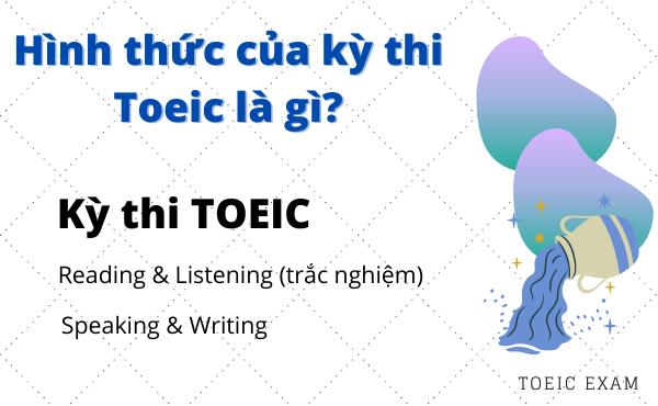Hình thức thi Toeic