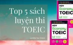 Top 5 sách luyện thi Toeic tốt nhất cho người mới luyện thi
