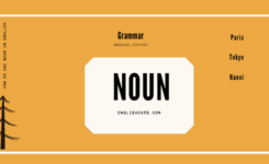 Danh từ trong tiếng Anh - Khái niệm, phân loại và cách dùng