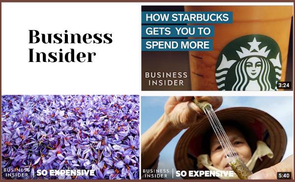 Business Insider với nhiều video thú vị