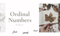 Cấu tạo & cách đọc số thứ tự tiếng Anh có thể bạn chưa biết