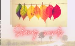 Những slang words (từ lóng) trong tiếng anh mà bạn cần biết
