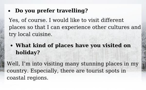 Mẫu câu hỏi thường gặp trong tiếng Anh (travelling)