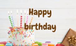 Lời chúc mừng sinh nhật tiếng anh ấn tượng và ý nghĩa nhất
