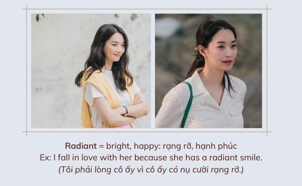 Từ vựng tính từ radiant